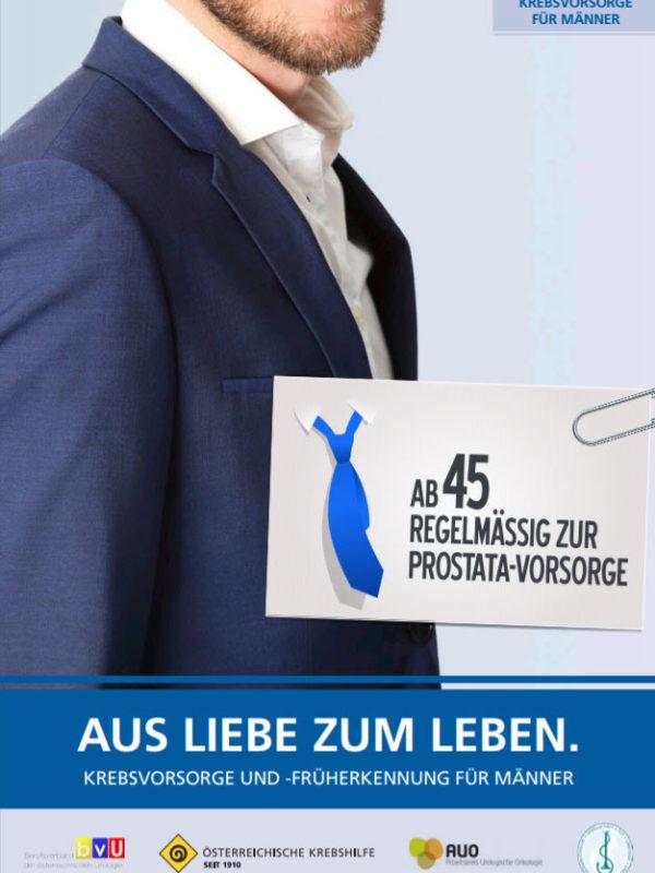 Broschüre Prostatakrebs (Krebshilfe)